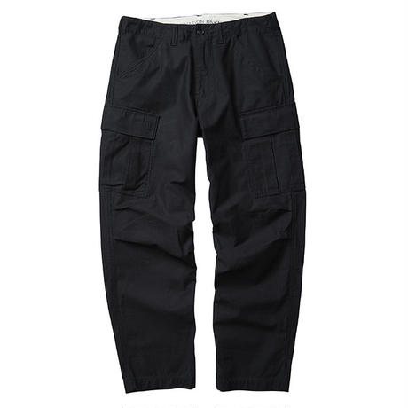 LIBERAIDERS - 6 POCKET ARMY PANTS  (BLACK)