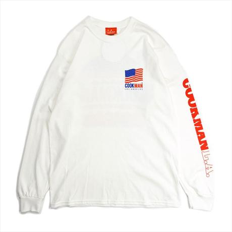 COOKMAN - Long sleeve T-shirts 「L.A.Burger」