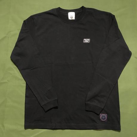 M&M - PRINT L/S TEE 21-MT-003 (BLACK)