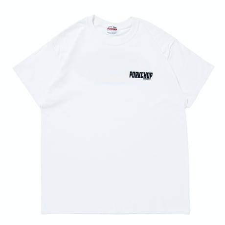 PORKCHOP - 2nd Oval TEE / WHITE