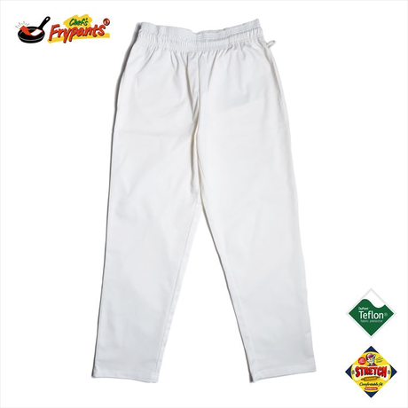 COOKMAN - Chef's Frypants 「white」