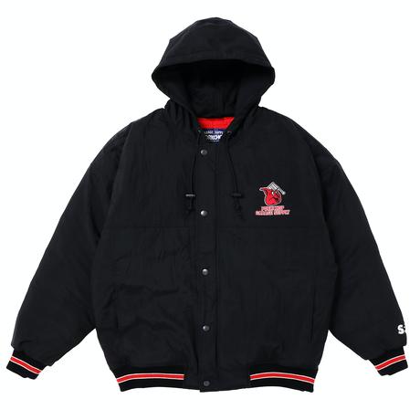 PORKCHOP - HOOOD STADIUM JKT (BLACK)