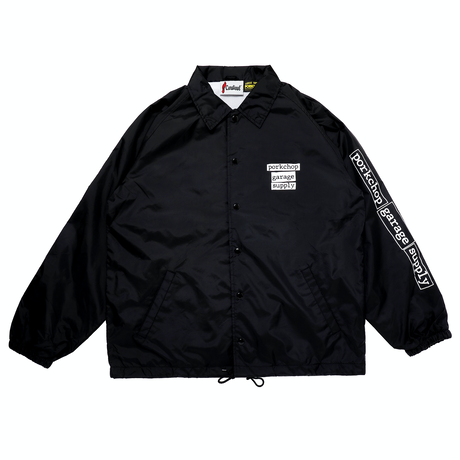 PORKCHOP - SPEED SLAVE COACH JKT/BLACK