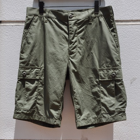 NAOSHIYA CUSTOM FACTORY「ADVENTURE SHORTS」グリーン