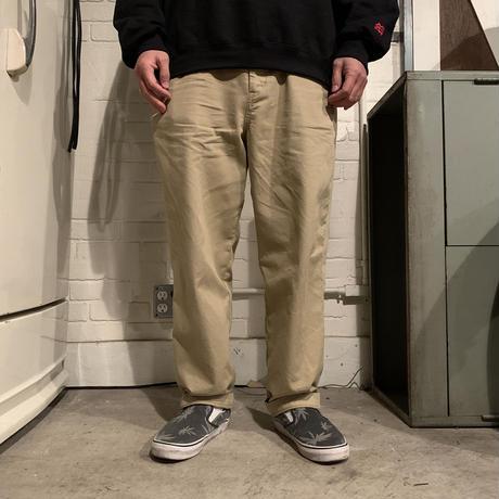 PORKCHOP - LOOSE FIT CHINO PANTS (BEIGE)