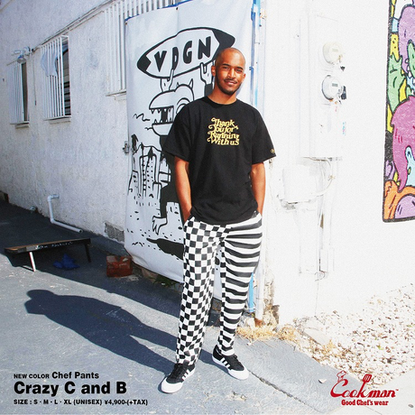 COOKMAN - Chef Pants 「Crazy C and B」