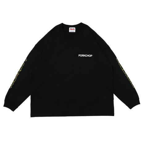 PORKCHOP - OLD PORK L/S TEE (BLACK)