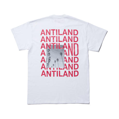 BONES AND BOLTS -TEE (ANTILAND) ホワイト