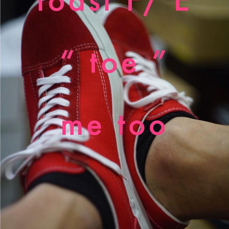 "toast FOOT & EYEWEAR GEAR - ""toe"" me too (レッド)"