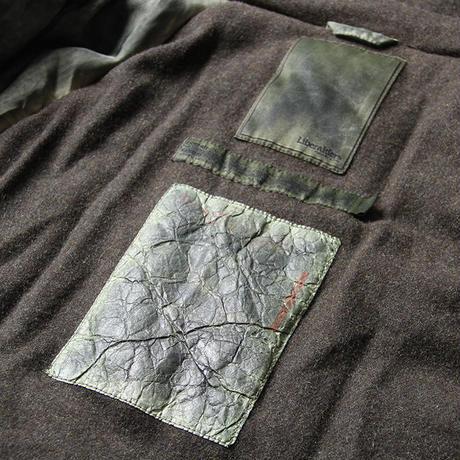 LIBERAIDERS - OVERDYED EXPEDITION JACKET (OLIVE)