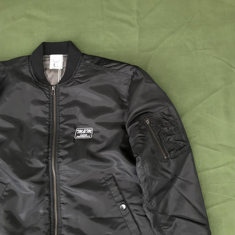 M&M - MA-1 JACKET (BLACK)