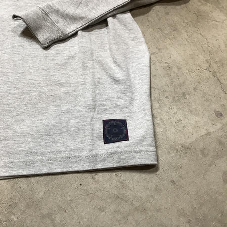 M&M - PRINT L/S T-SHIRT 012 (M.GRAY)