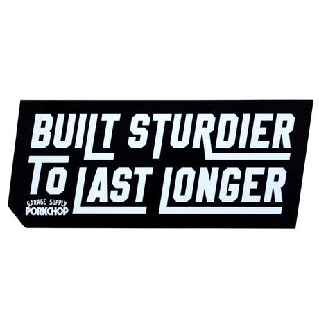 PORK CHOP -  BUILT STURDIER ステッカー