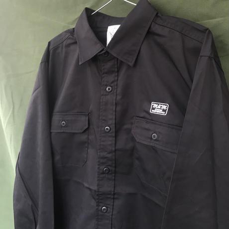 M&M - WORK L/S SHIRT (BLACK)