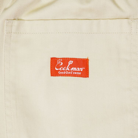 COOKMAN - ワイドシェフパンツ Wide Chef Pants 「Sand」