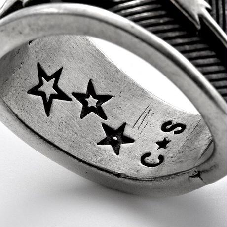 "CODY SANDERSON - Ring ""BITCH""Stamp"
