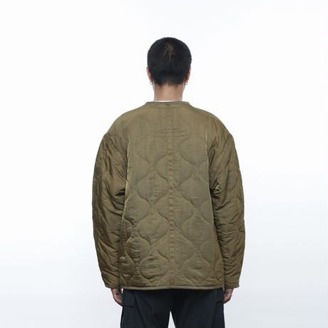 LIBERAIDERS - QUILTED JACKET (オリーブ)