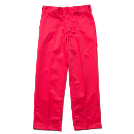 BONES AND BOLTS - NEARSIGHT TWILL PANTS (レッド)