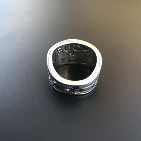 "CODY SANDERSON - Ring ""Fuck You"" Stamp"
