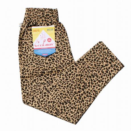 COOKMAN - Chef Pants 「Leopard」