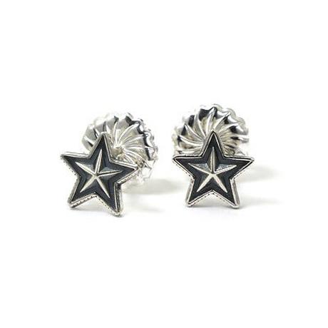 CODY SANDERSON - Small Star Stud Pierced Earring