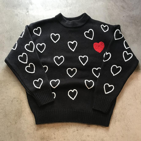 ChahChah - HEARTFUL HAND EMBRODERY KNIT