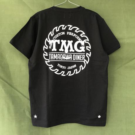 M&M - PRINT S/S TEE 20-MT-TD01 (BLACK)