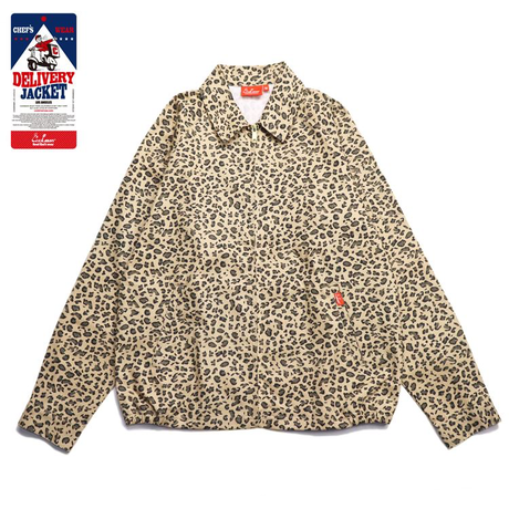 COOKMAN - Delivery Jacket 「Leopard」