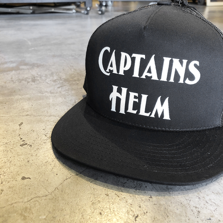 CAPTAINS HELM - #LOGO MESH CAP