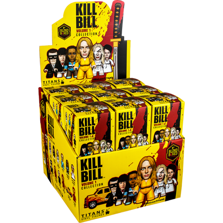 "KILL BILL フィギア - 3"" BLIND-BOX COLLECTIONS"