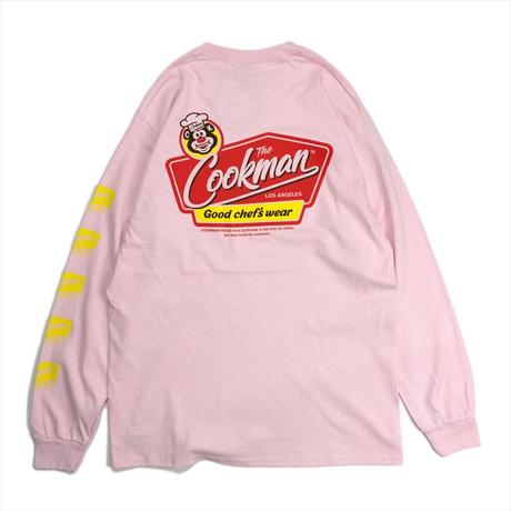 COOKMAN - Long sleeve T-shirts 「Signboard」