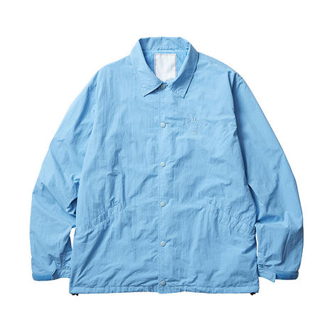 LIBERAIDERS - OVERDYED COACH JACKET (ブルー)