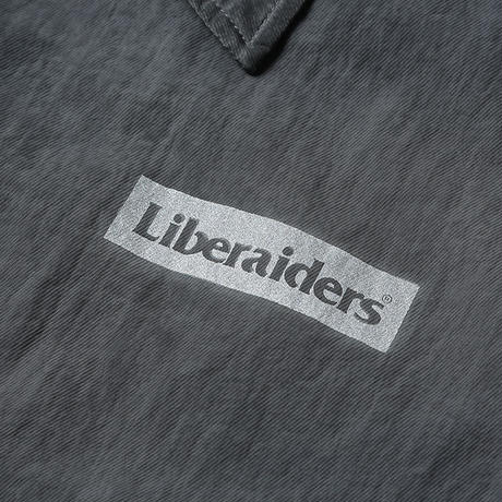 LIBERAIDERS - OVERDYED VICTORY COACH JACKET (BLACK)