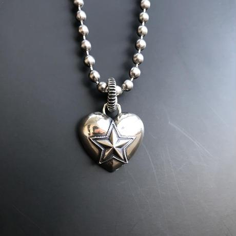 CODY SANDERSON - Pendant Heart & Sheriff Star
