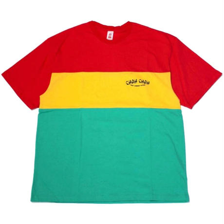 ChahChah - Big Rasta Panel T-Shirt