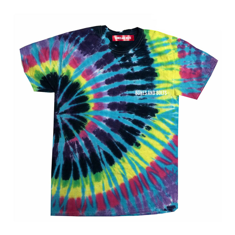 BONES AND BOLTS - TEE (TIE-DYE) FLASHBACK