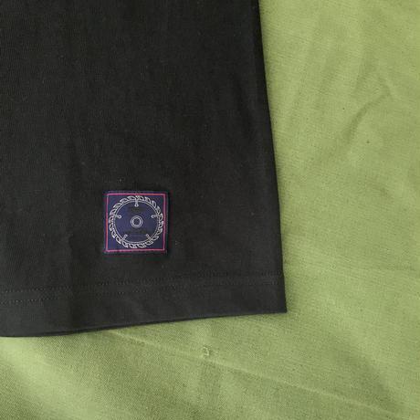 M&M - PRINT L/S TEE 20-MT-025 (BLACK)