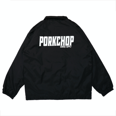 PORKCHOP - 2nd Oval COACH JKT (BLACK)