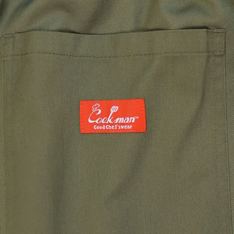 COOKMAN - ワイドシェフパンツ Wide Chef Pants 「Khaki」