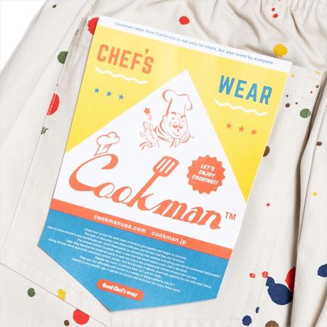 COOKMAN - Chef Pants「Sauce Splash」