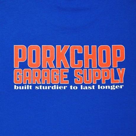 PORKCHOP GARAGE SUPPLY - OLD PORK SIGN TEE (ROYAL BLUE)