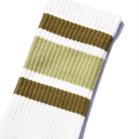 SURF SKATE CAMP - Tube socks (Khaki)
