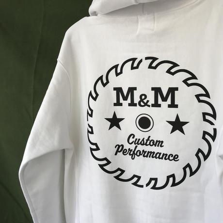 M&M - HEAVY PARKA MSW-002 (WHITE)