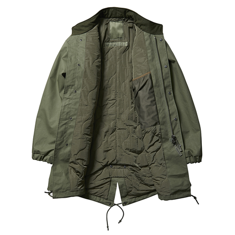 Liberaiders®︎ - 3LAYER FISH TAIL COAT (OLIVE)