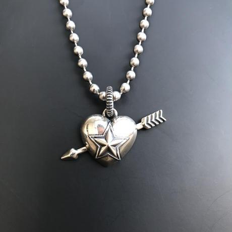 CODY SANDERSON - Pendant Heart & Sheriff Star 1 Arrow