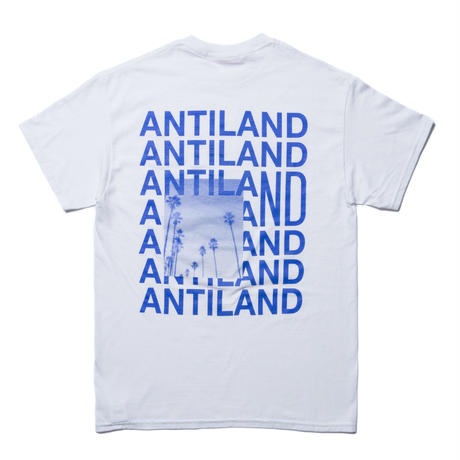 BONES AND BOLTS - TEE (ANTILAND) ホワイト