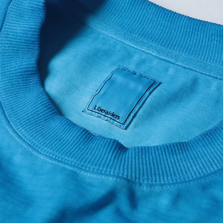 LIBERAIDERS - OVERDYED MESH L/S (BLUE)