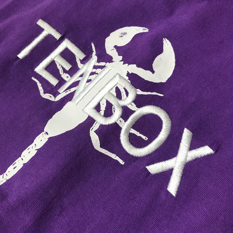TENBOX - Tony Scorpion Tee (Purple)