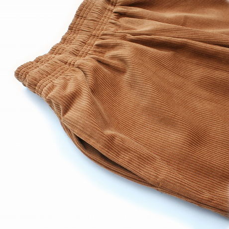 COOKMAN - Chef Short Pants 「Corduroy」Brown