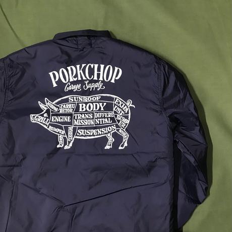 PORKCHOP - BOA COACH JACKET (NAVY)